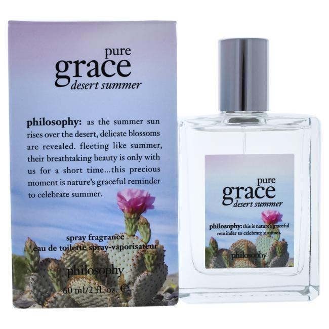 PURE GRACE DESERT SUMMER BY PHILOSOPHY FOR WOMEN -  Eau De Toilette SPRAY