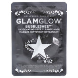 Bubblesheet Oxygenating Deep Cleanse Mask by Glamglow for Women - 1 Pc Mask