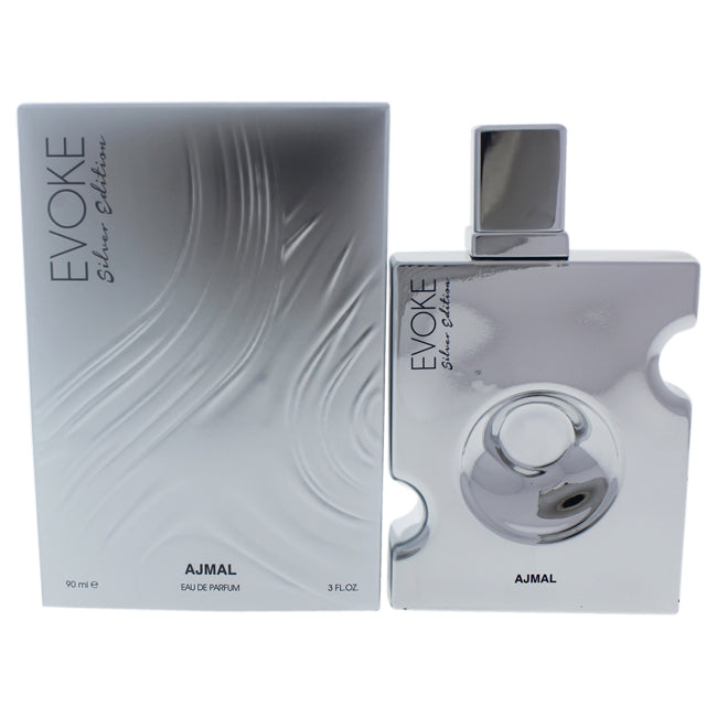 Evoke Silver Edition by Ajmal for Men -  Eau de Parfum Spray