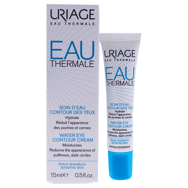 Eau Thermale Water Eye Contour Cream by Uriage for Unisex - 0.5 oz Cream