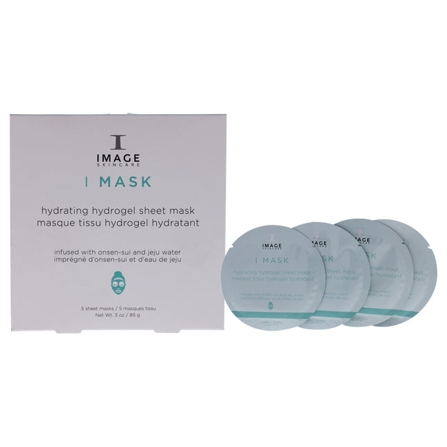 I Mask Anti-Aging Hydrogel Sheet Mask by Image for Unisex - 5 Pc Mask