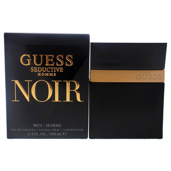 Guess Seductive Homme Noir by Guess for Men -  Eau de Toilette Spray