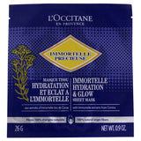 Immortelle Hydrating and Glow Sheet Mask by LOccitane for Unisex - 1 Pc Mask