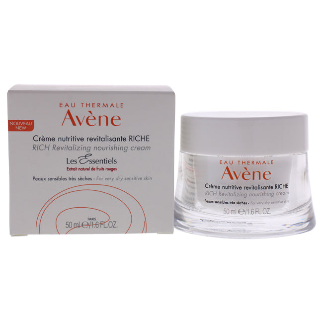 Rich Revitalizing Nourishing Cream - Very Dry Sensitive Skin by Avene for Women - 1.6 oz Cream
