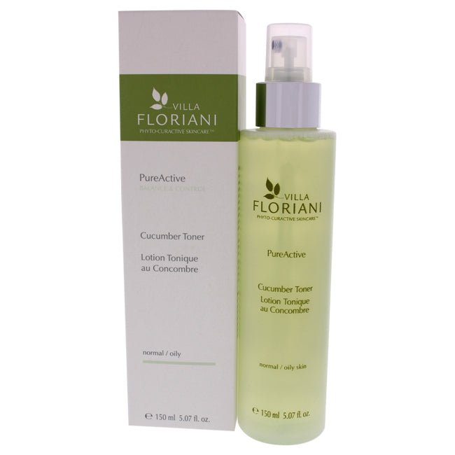 Toner - Cucumber by Villa Floriani for Women - 5 oz Toner