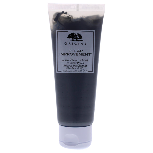 Clear Improvement Active Charcoal Mask by Origins for Unisex - 2.5 oz Mask