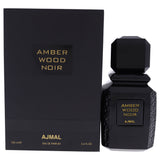 Amber Wood Noir by Ajmal for Unisex - Eau De Parfum Spray