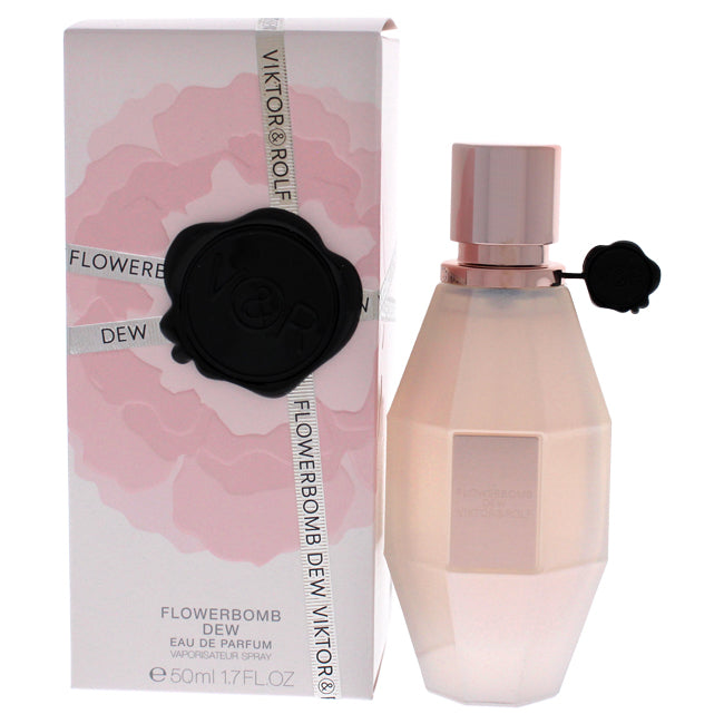 Flowerbomb Dew by Viktor and Rolf for Women - Eau De Parfum Spray