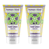 Hand-Elbow-Feet Cream - Tropical Fresh - Pack of 2 by Human+Kind for Unisex - 1.7 oz Cream