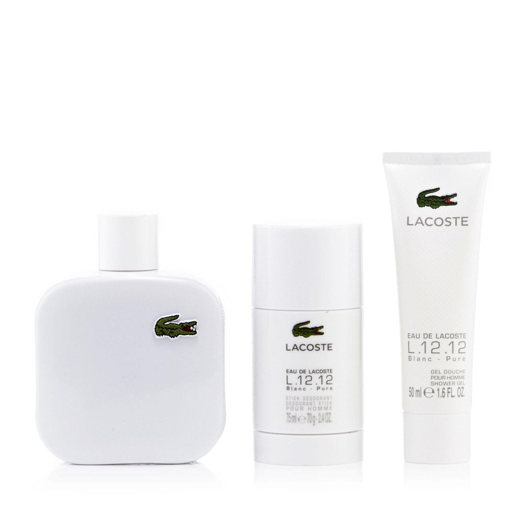 L.12.12 Blanc Gift Set for Men by Lacoste