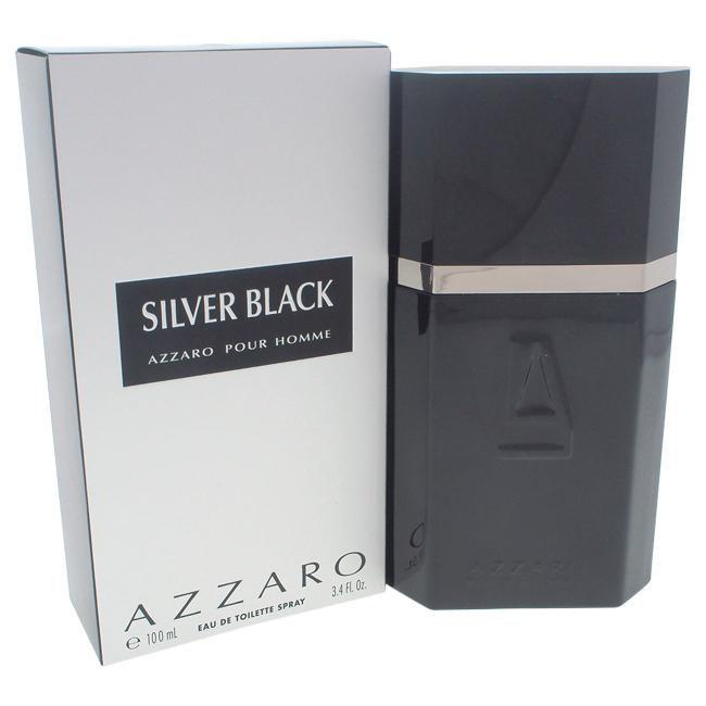Silver Black by Loris Azzaro for Men -  Eau De Toilette Spray