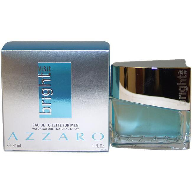 VISIT BRIGHT BY LORIS AZZARO FOR MEN -  Eau De Toilette SPRAY
