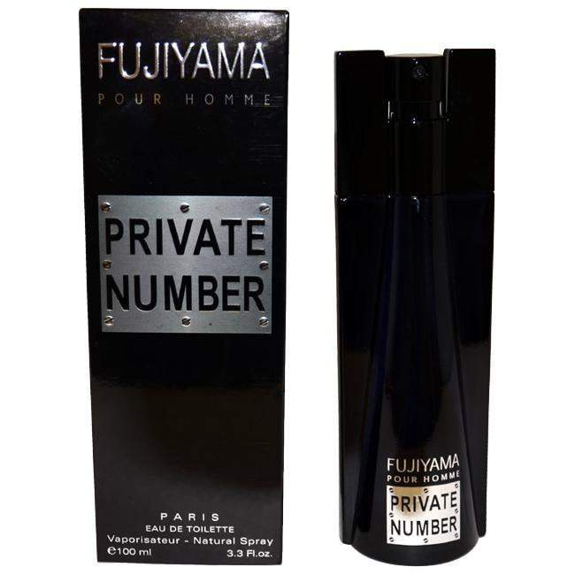 Fujiyama Private Number by Succes De Paris for Men - Eau de Toilette - EDT/S