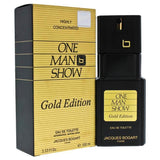 ONE MAN SHOW BY JACQUES BOGART FOR MEN -  Eau De Toilette SPRAY (GOLD EDITION)