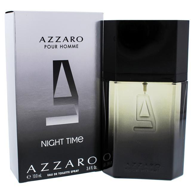 Azzaro Pour Homme Night Time by Loris Azzaro for Men -  Eau de Toilette - EDT/S