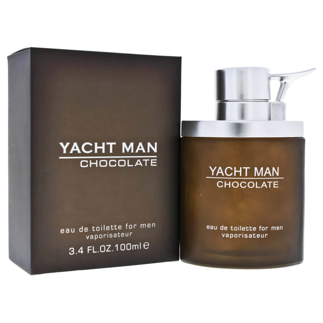 Yacht Man Chocolate by Myrurgia for Men - EDT Spray