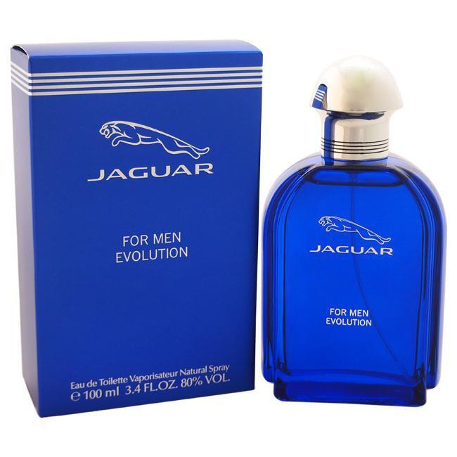 JAGUAR EVOLUTION BY JAGUAR FOR MEN -  Eau De Toilette SPRAY