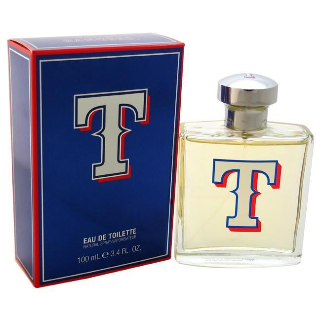Texas Rangers For Men By Texas Rangers Eau De Toilette Spray