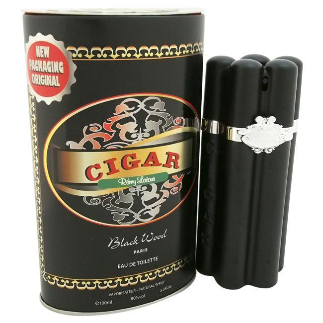 CIGAR BLACK WOOD BY REMY LATOUR FOR MEN -  Eau De Toilette SPRAY