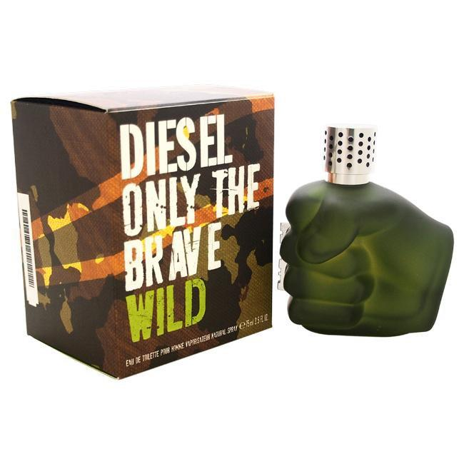 DIESEL ONLY THE BRAVE WILD BY DIESEL FOR MEN -  Eau De Toilette SPRAY
