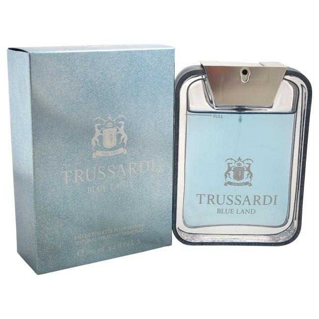 TRUSSARDI BLUE LAND BY TRUSSARDI FOR MEN -  Eau De Toilette SPRAY