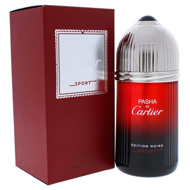 PASHA DE CARTIER EDITION NOIRE SPORT BY CARTIER FOR MEN -  Eau De Toilette SPRAY