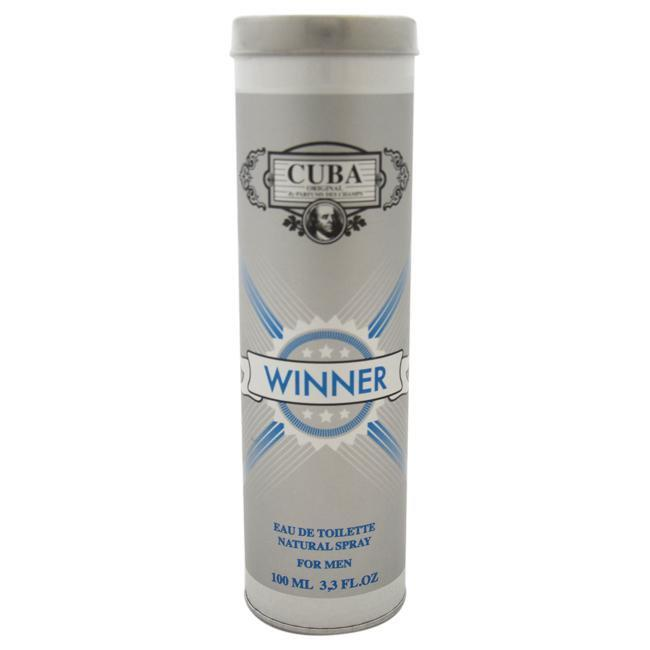 CUBA WINNER BY CUBA FOR MEN -  Eau De Toilette SPRAY