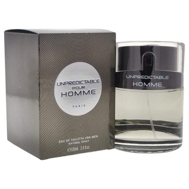 UNPREDICTABLE POUR HOMME BY GLENN PERRI FOR MEN -  Eau De Toilette SPRAY