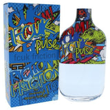 FCUK FRICTION PULSE BY FRENCH CONNECTION FOR MEN -  Eau De Toilette SPRAY
