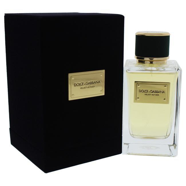 Velvet Vetiver by Dolce and Gabbana for Men -  Eau de Parfum Spray