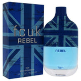 FCUK REBEL BY FRENCH CONNECTION UK FOR MEN -  Eau De Toilette SPRAY