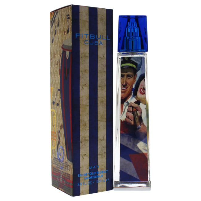 Pitbull Cuba by Pitbull for Men -  Eau De Toilette Spray