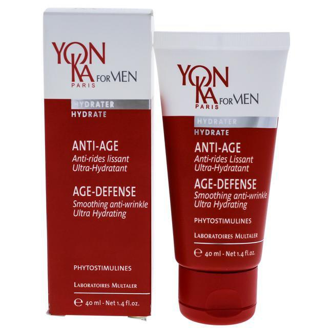 Hidrater Age-Defense Cream by Yonka for Men - 1.4 oz Cream
