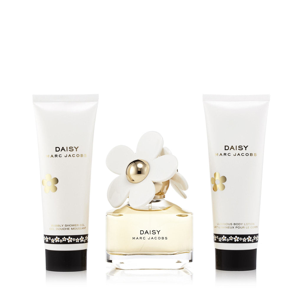 Daisy Gift Set Eau de Toilette, Body Lotion, Shower Gel for Women by Marc Jacobs 1.7 oz.