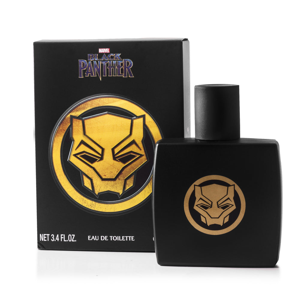Black Panther Eau de Toilette Spray for Boys by Marvel 3.4 oz.