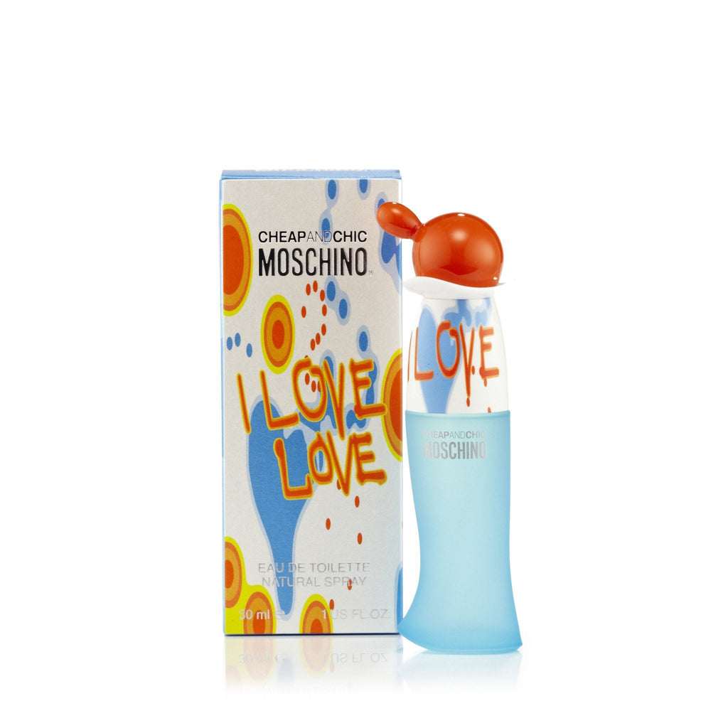 Moschino I Love Love Eau de Toilette Womens Spray 1.0 oz.