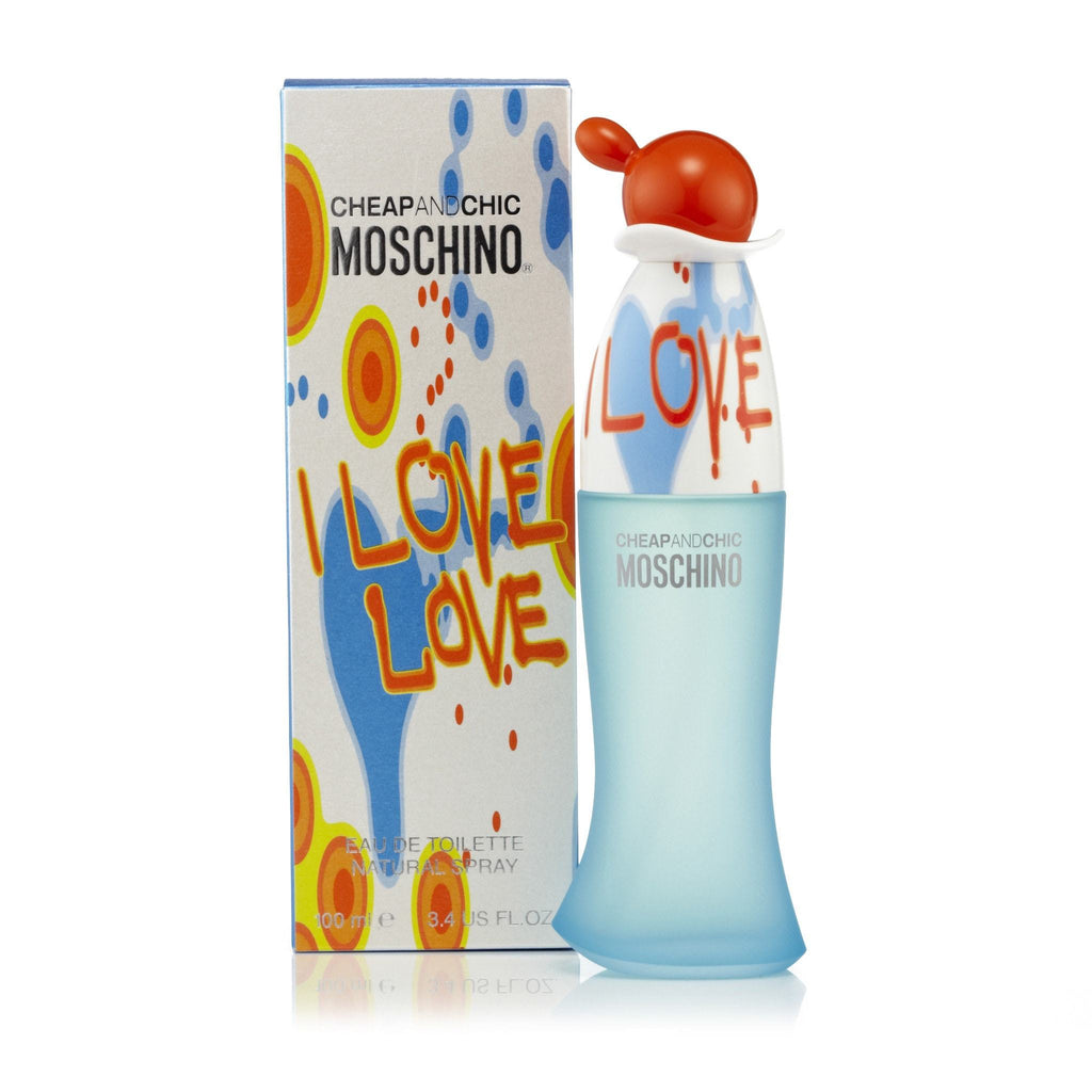 Moschino I Love Love Eau de Toilette Womens Spray 3.4 oz.