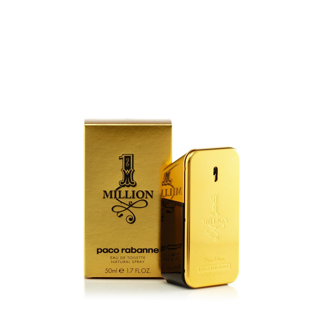 Paco Rabanne 1 Million Eau de Toilette Mens Spray 1.7 oz.