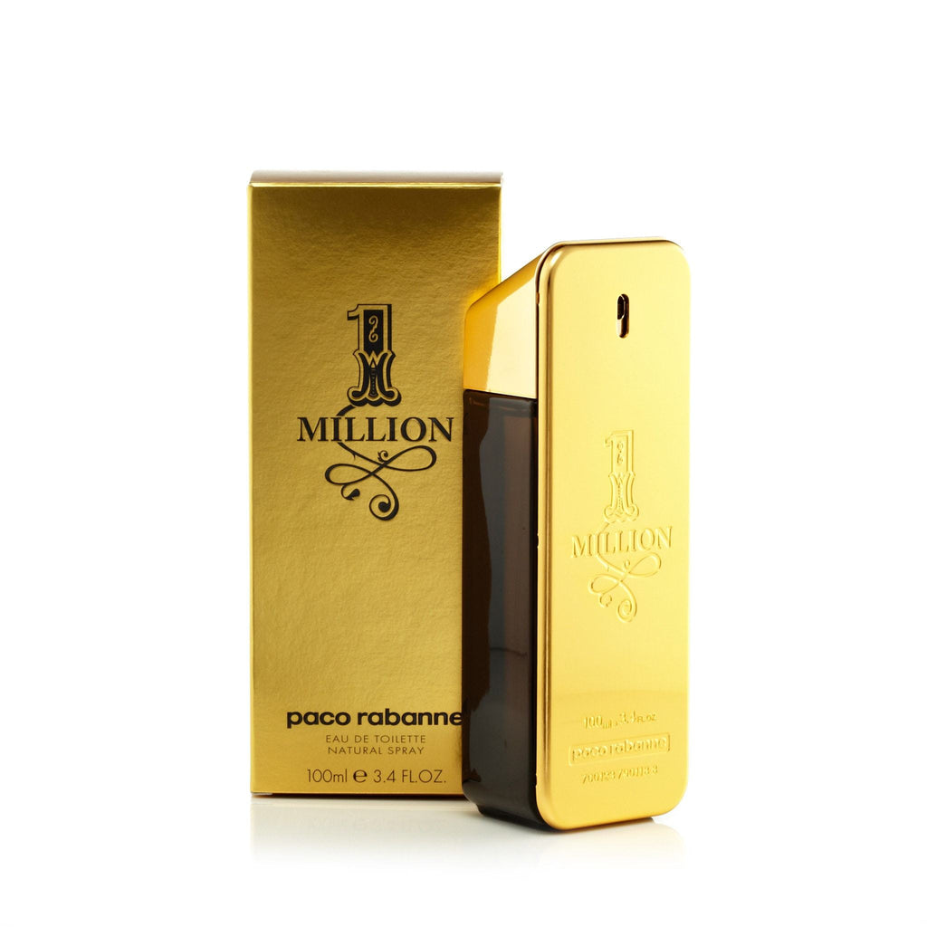 Paco Rabanne 1 Million Eau de Toilette Mens Spray 3.4 oz.
