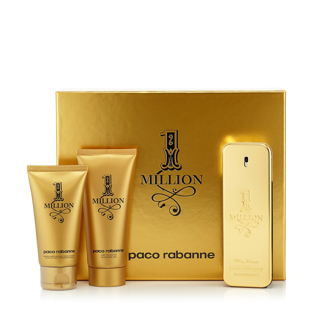 1 Million Gift Set for Men by Paco Rabanne 3.4 oz.