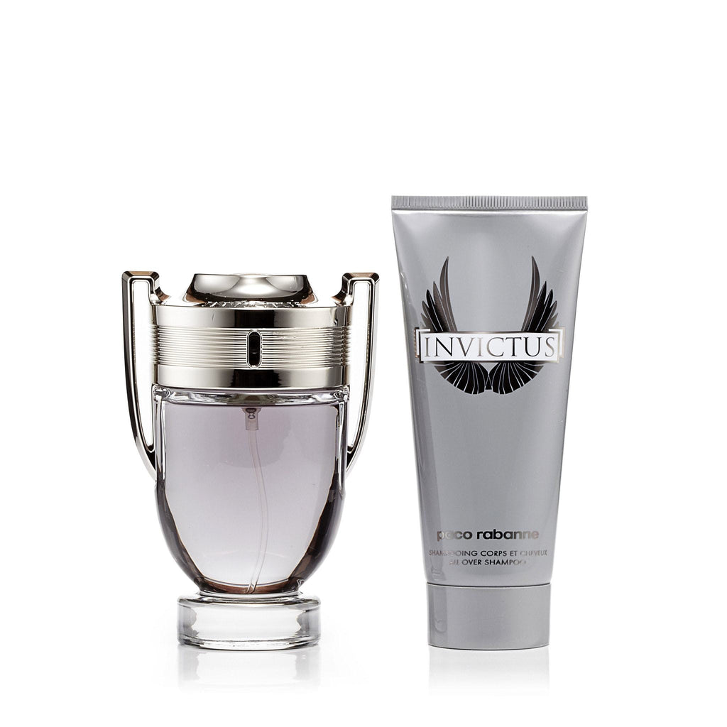 Paco Rabanne Invictus Gift Set Mens 3.4 oz.