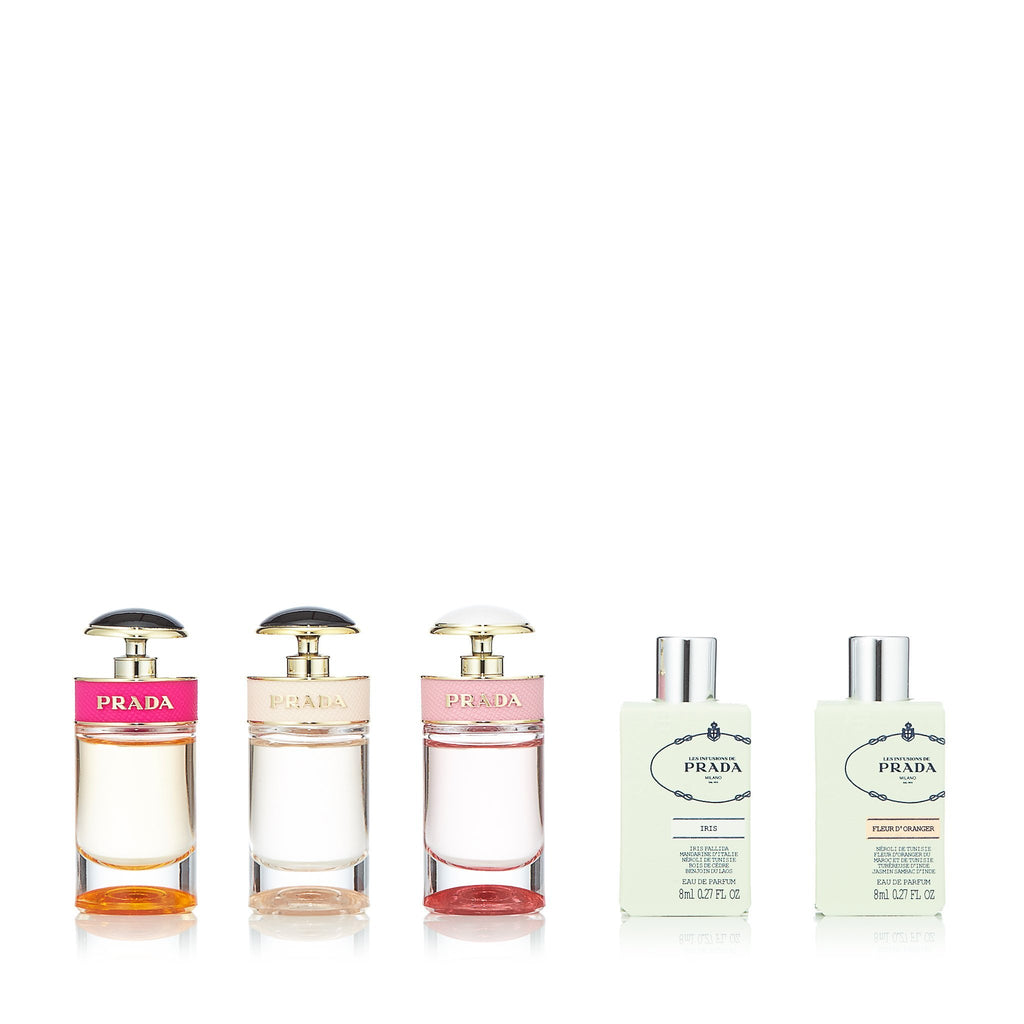 Prada Miniatures for Women by Prada 0.24 oz. Each