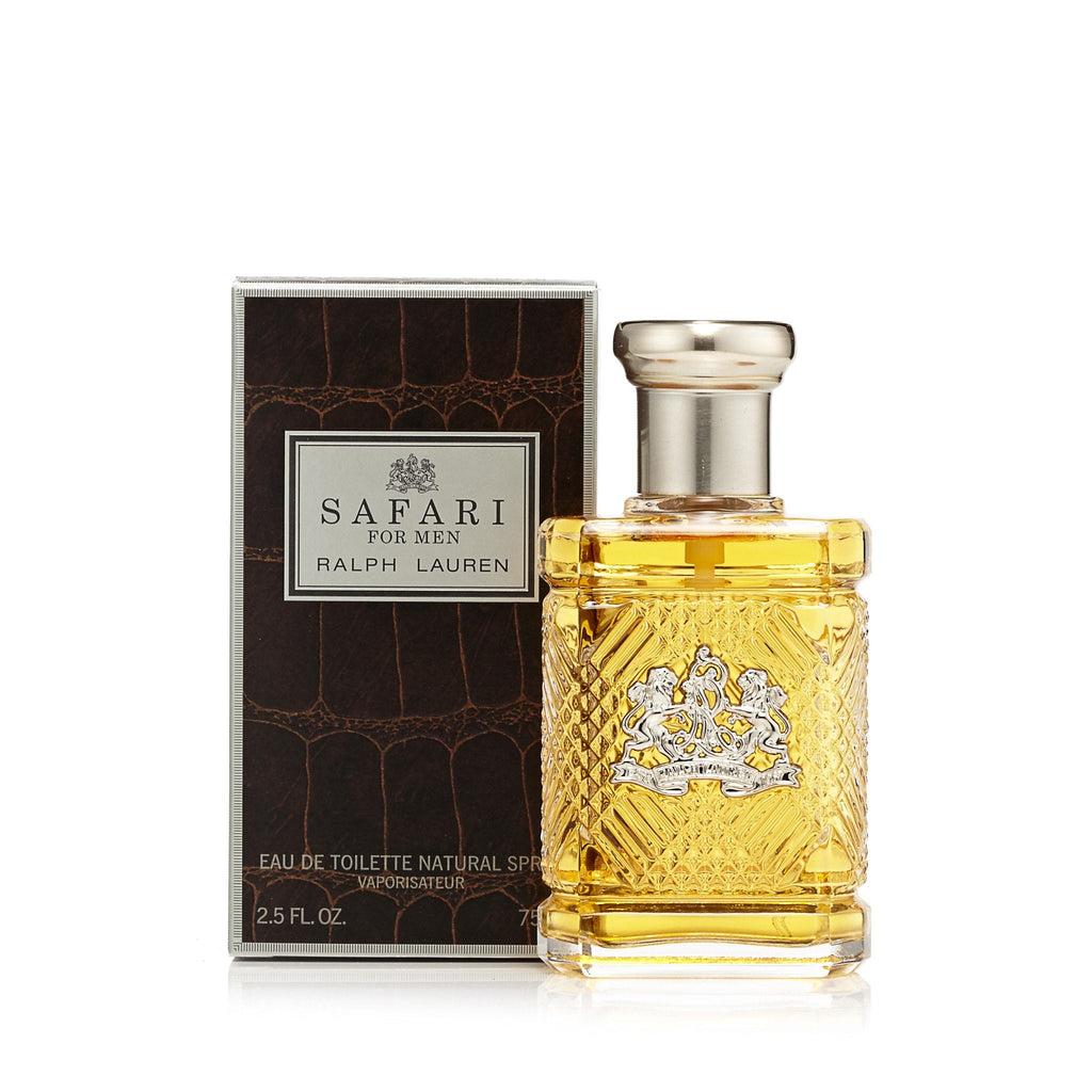 Safari Eau de Toilette Spray for Men by Ralph Lauren 2.5 oz.