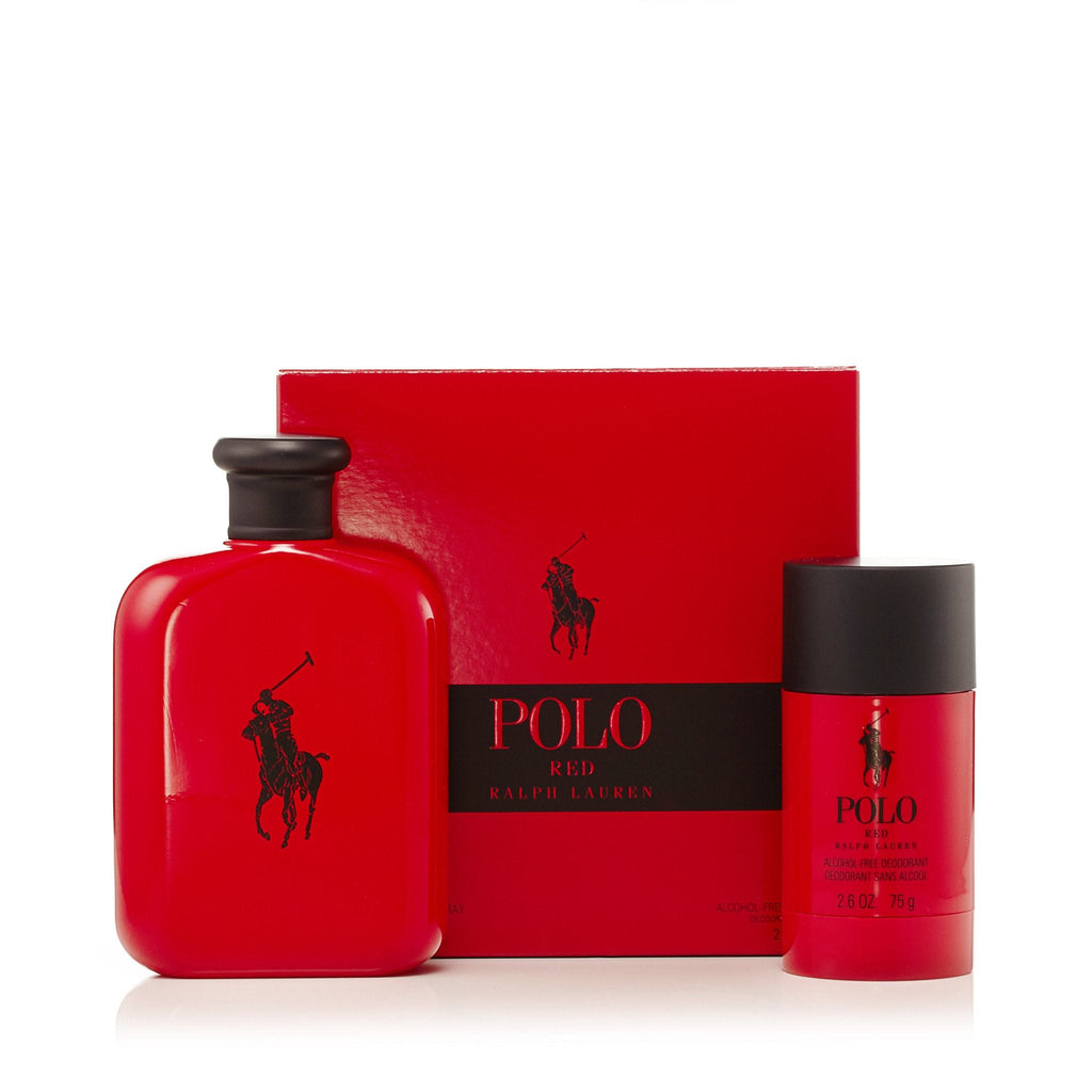 Polo Red Gift Set for Men by Ralph Lauren 4.2 oz.