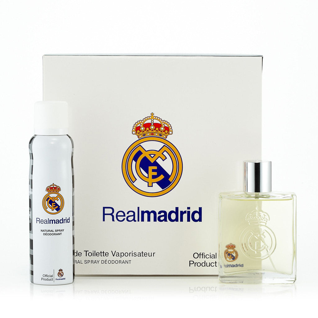 Real Madrid Gift Set for Men by Real Madrid 3.4 oz.
