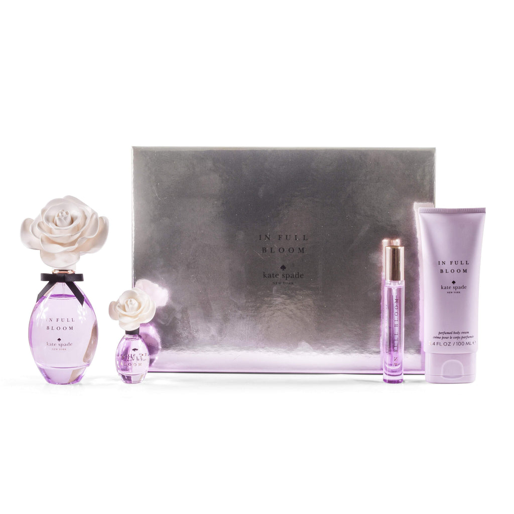 In Full Bloom Gift Set for Women by Kate Spade 3.4 oz.
