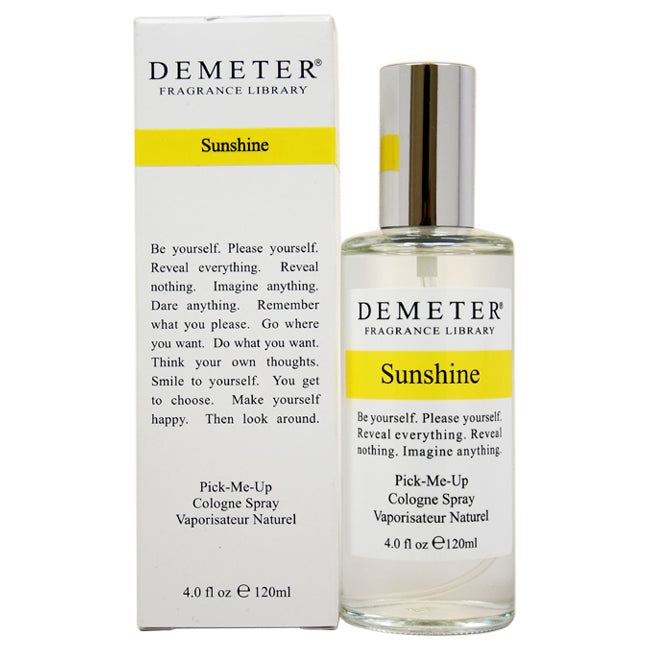 Sunshine by Demeter for Unisex - Cologne Spray