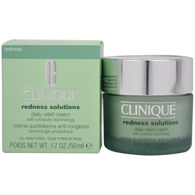 Redness Solutions Daily Relief Cream - All Skin Types by Clinique for Unisex - 1.7 oz Cream