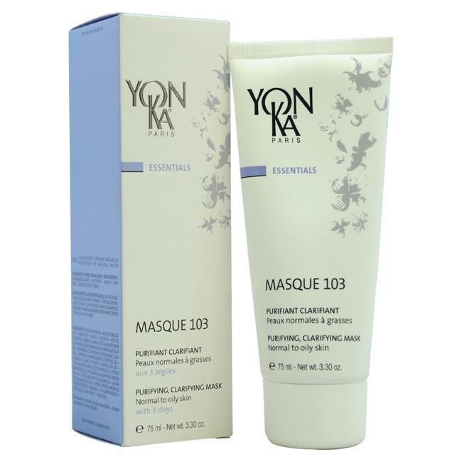 Masque 103 Purifying Clarifying Mask - Normal to Oily Skin by Yonka for Unisex - 3.3 oz Mask