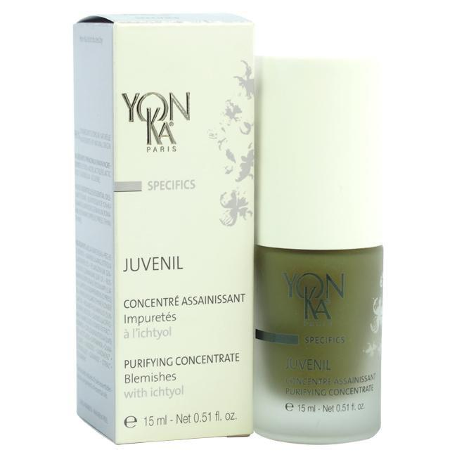 Juvenil Purifying Concentrate by Yonka for Unisex - 0.51 oz Serum